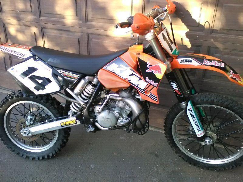 Ktm 200 Exc Brick7 Motorcycle