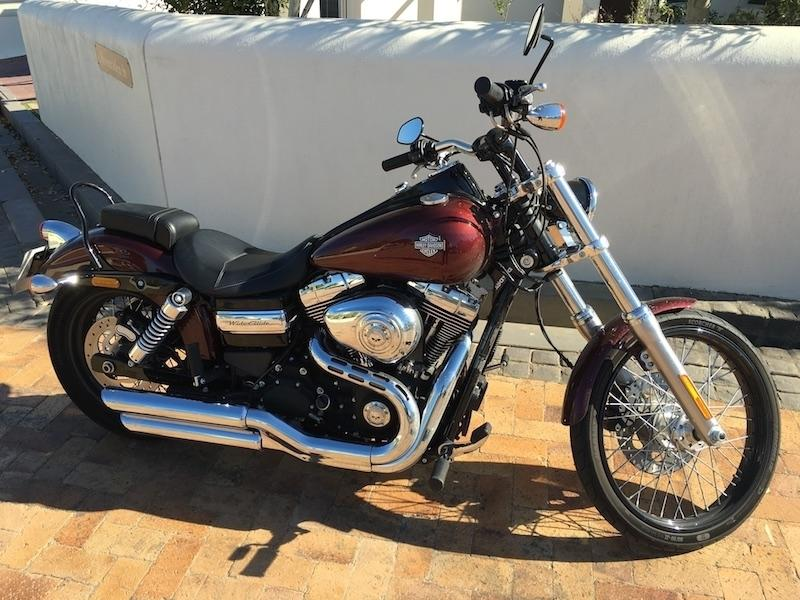 Awesome 2015 Harley Davidson Dyna Wide Glide for sale
