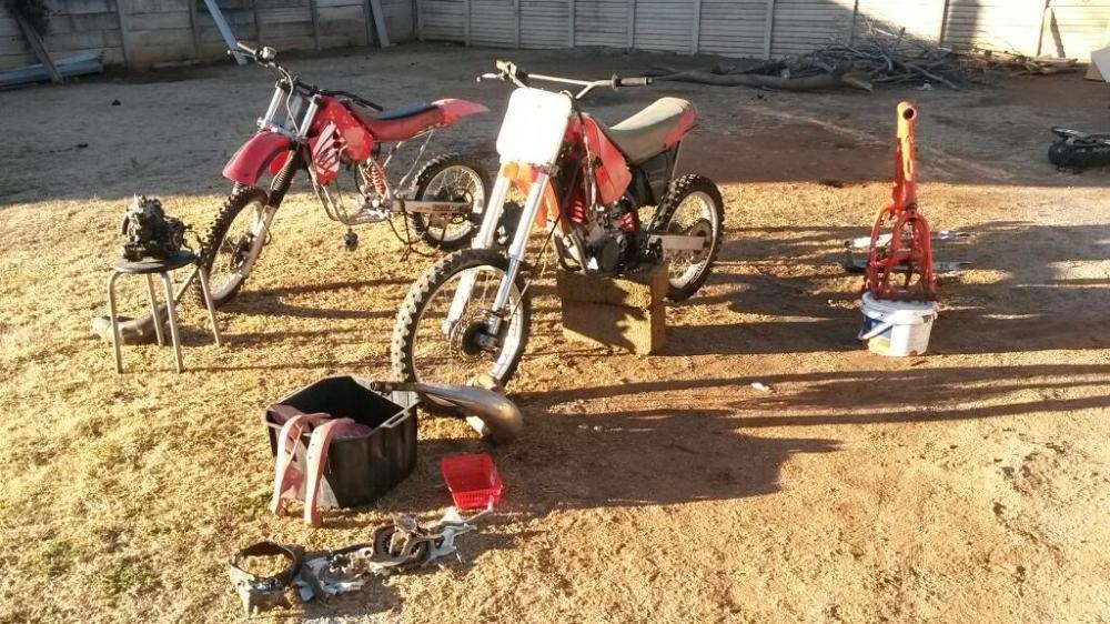 Honda Dirt bike projects for sale