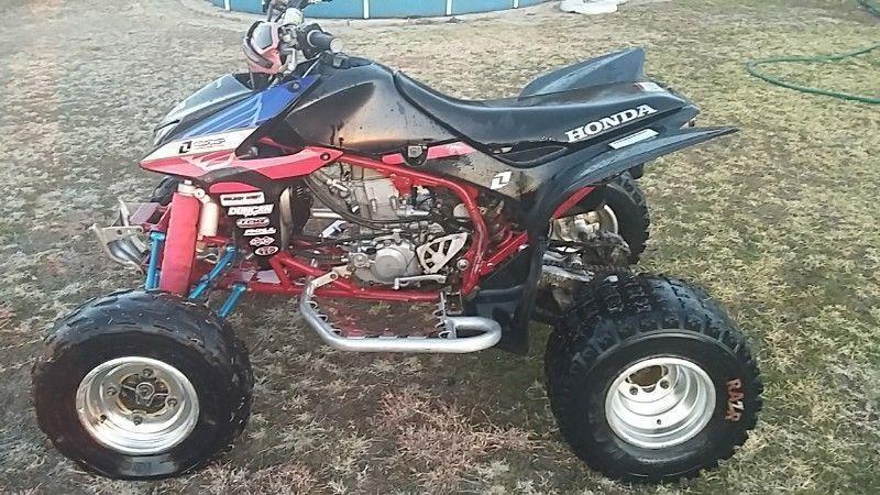 Honda trx 450 R quad bike