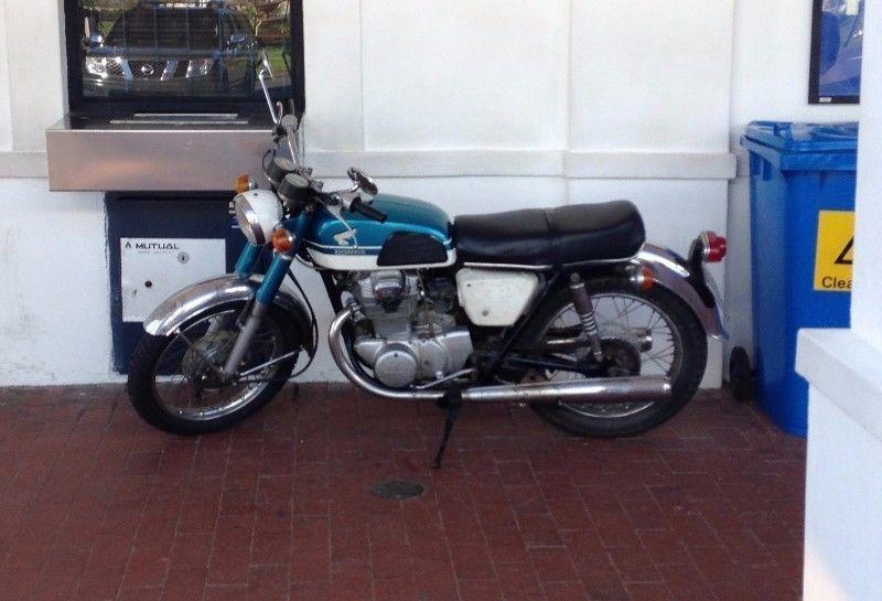 1969 Honda CB350 K0