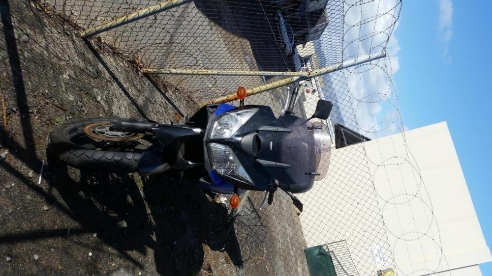 Suzuki Vstrom 650 motor damage