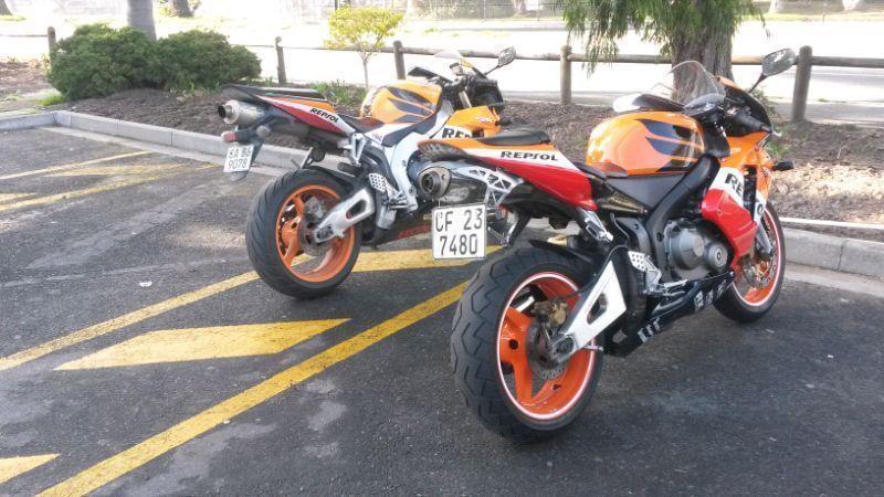 Honda cbr 600 for sale R37500