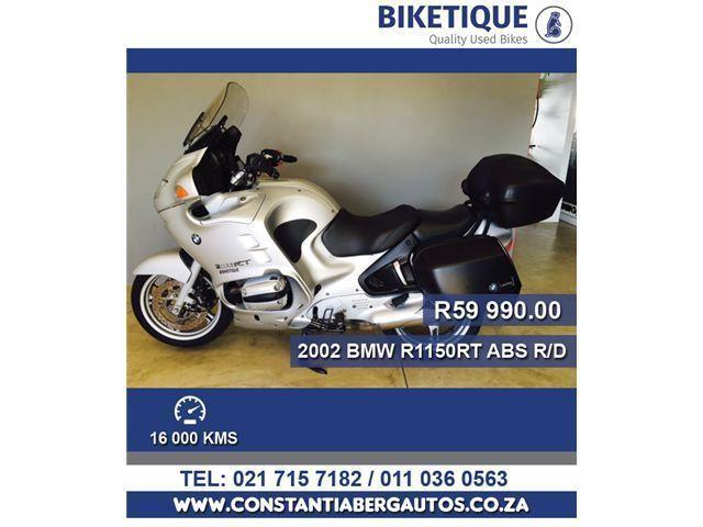 2002 BMW R1150RT ABS with only 16000km