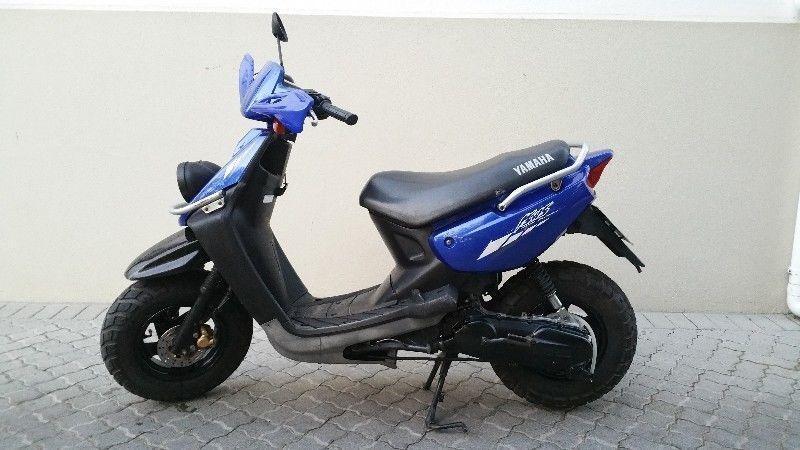 Yamaha bws 100 scooter brick7 motorcycle for Yamaha bws 100 for sale