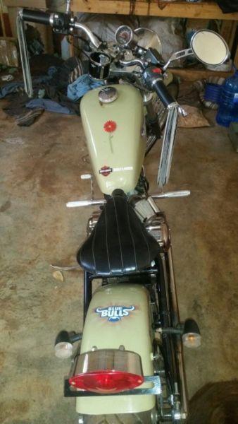 Cleveland 250cc Custom Motorcycle