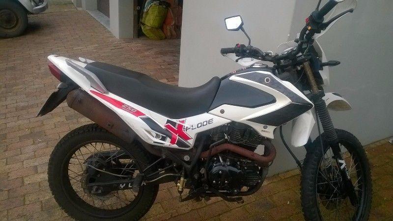 Bashan 250cc Explode R 7000.00