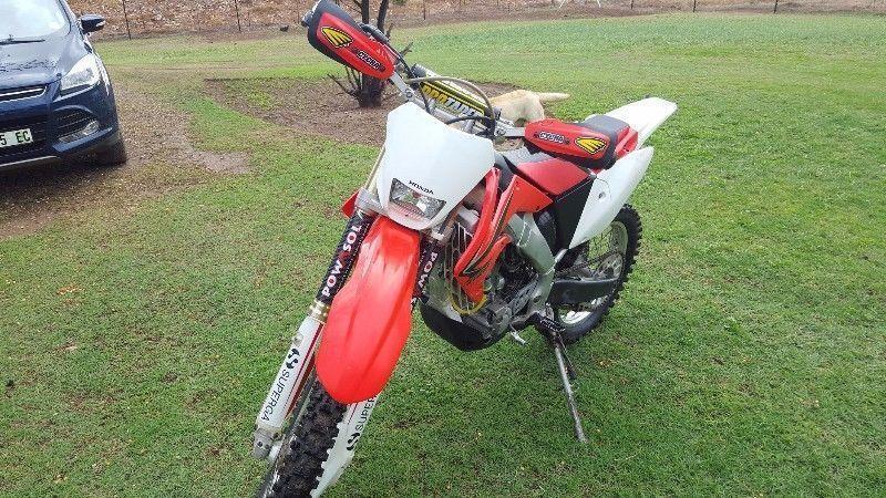 2010 Honda CRF 250 X 4stroke motocross