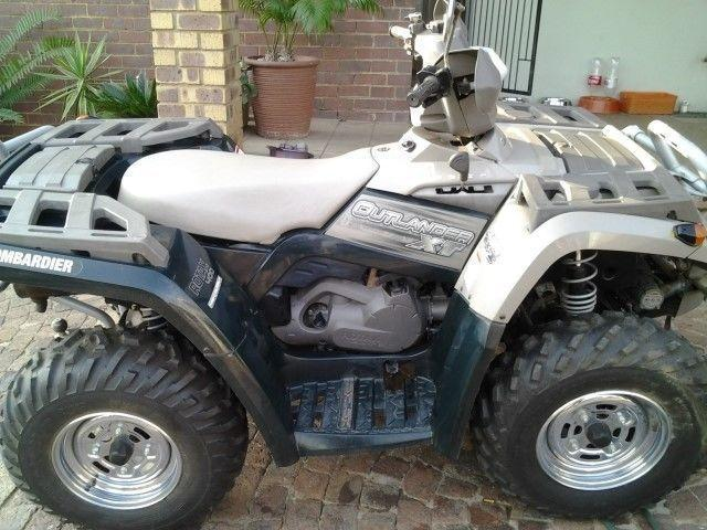 Quads and trailers for sale