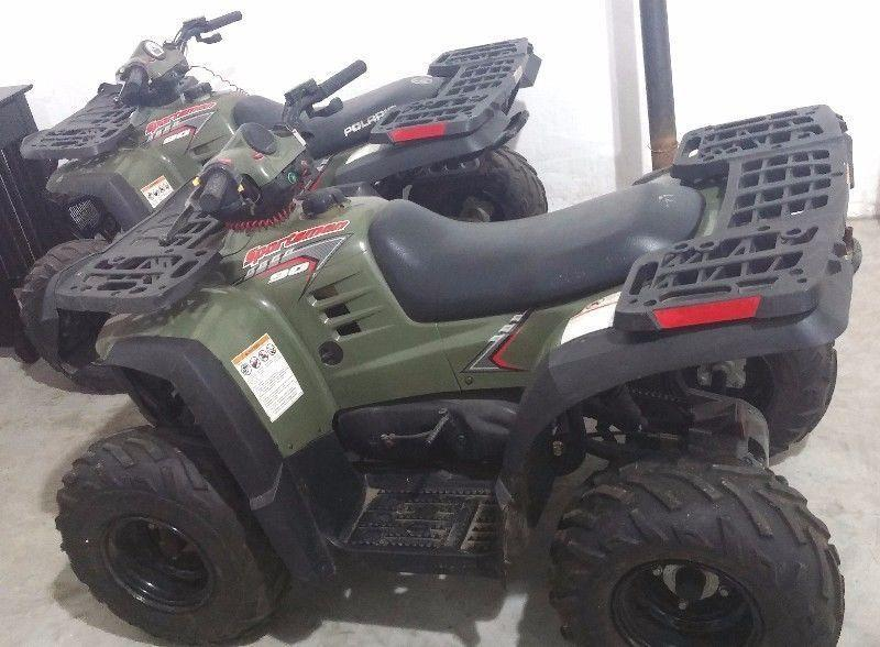 2x Polaris Sportsman 90 for sale