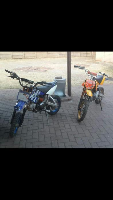 Pit bikes for sale (both)