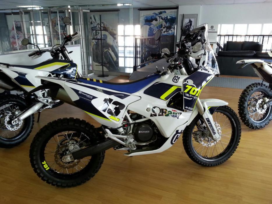 Husqvarna 701 Rally kit available