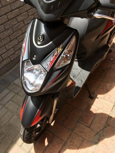 2016 Sym Orbit II Scooter 125 cc