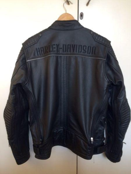 Harley-Davidson Buffalo Leather Bike Jacket