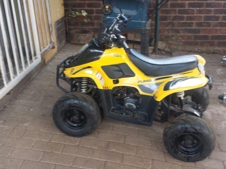 Johnway puma 110cc quad