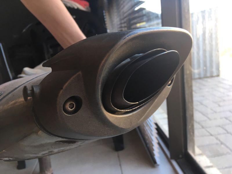 Honda CBR 600 RR 2008 Slip on exhaust (Stock)