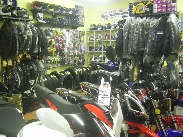 TAZMAN MOTORCYCLES BIKE STORE