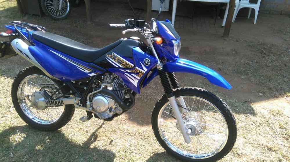 Yamaha xtz 125 brick7 motorcycle for Yamaha xtz 125