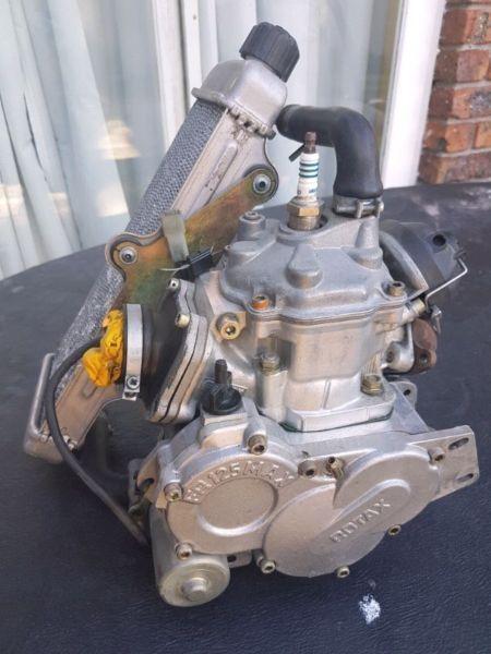 Rotax max 125 Racing Engine and yamaha kt100 racing engine