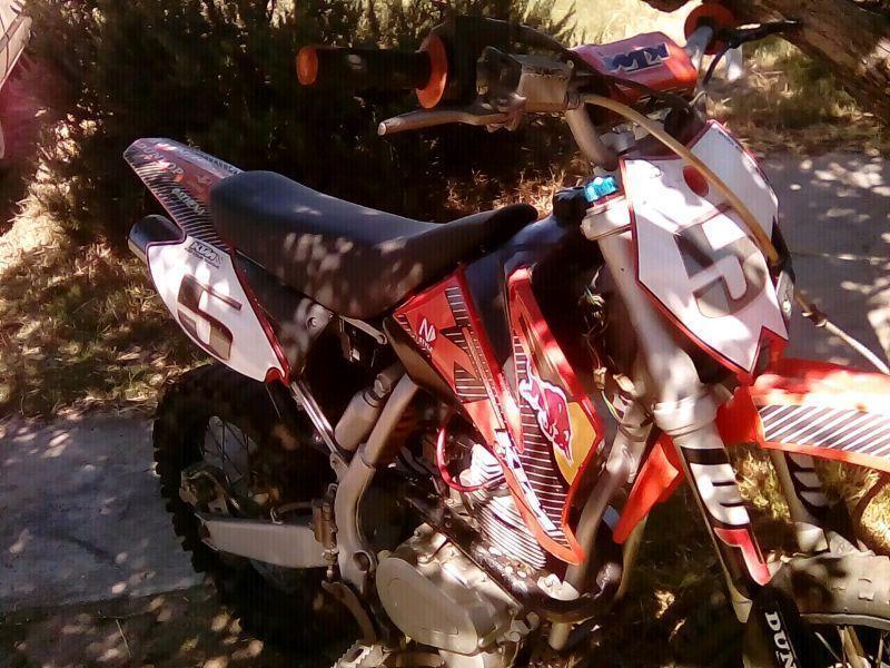 Ktm 200cc pit bike