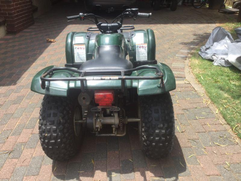 2007 Yamaha Grizzly 125 A/T with papers for sale