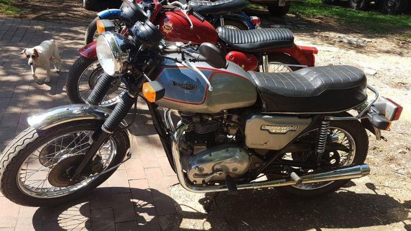 1982 Triumph Bonneville Motorcycle