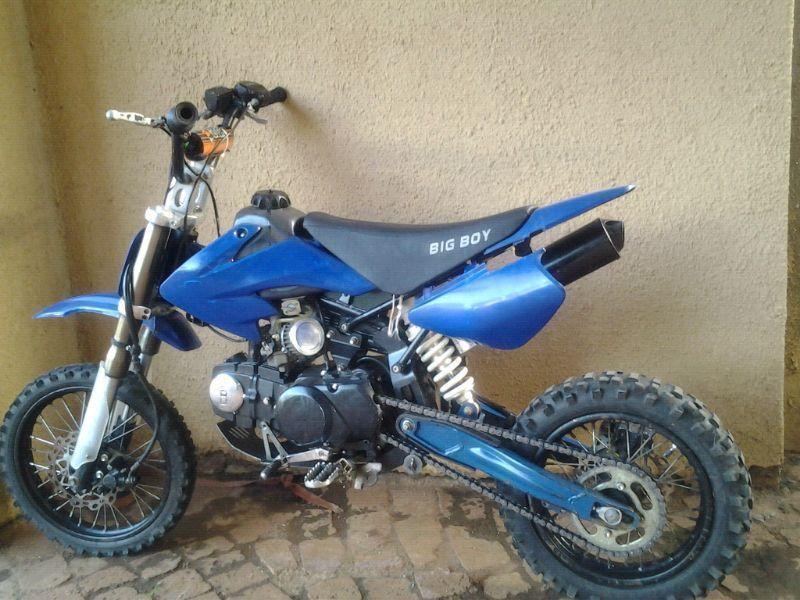 Pit bike big boy 125cc