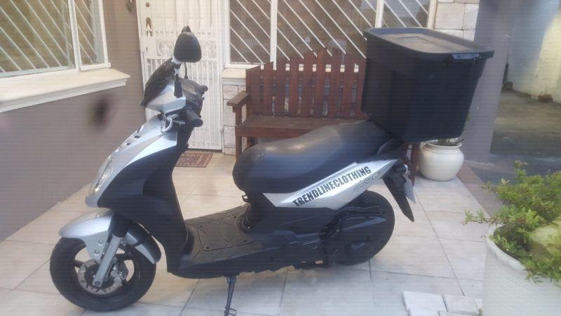 Sym orbit 2011 125cc scooter Good condition R6800