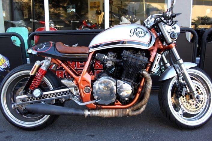 2000 SUZUKI INAZUMA CAFE RACER - UK SPEC - RARE BIKE - ONE OFF CUSTOM