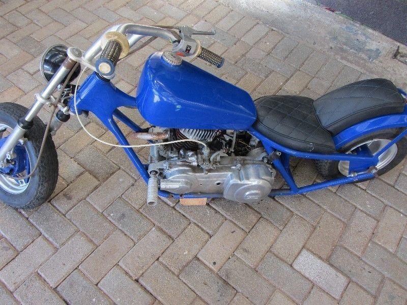 Miniature (Harley-Davidson) Motor Bike