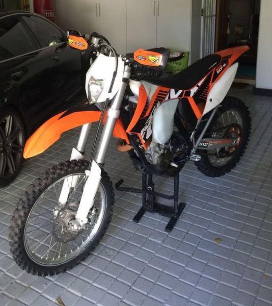 2012 KTM 350 XCW