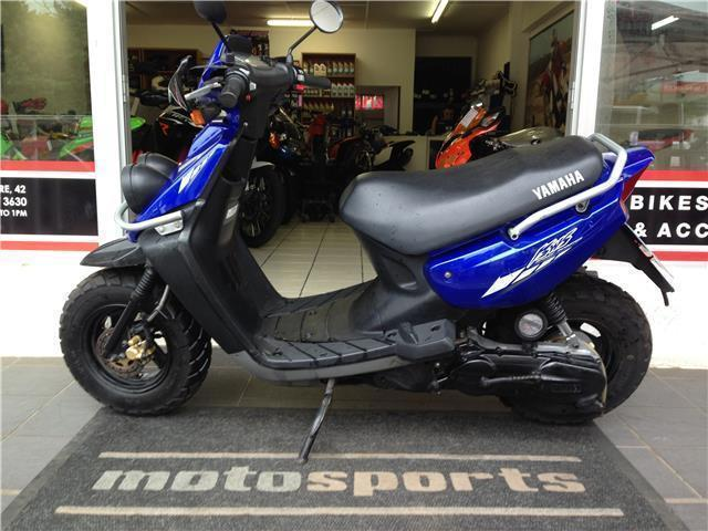 yamaha bws 100 scooter brick7 motorcycle
