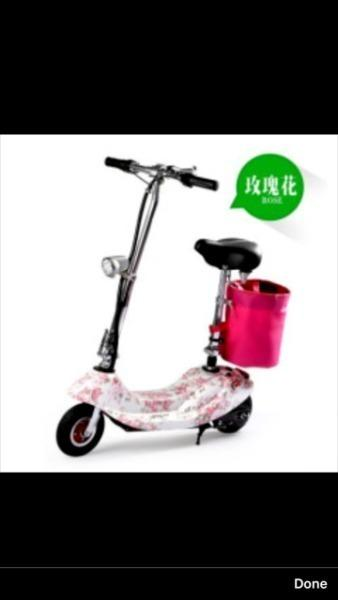 2017 E-SCOOTER ELECTRIC