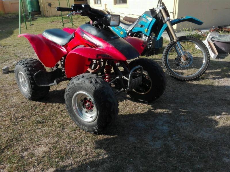 Honda Trx 300ex sportrax quad bike
