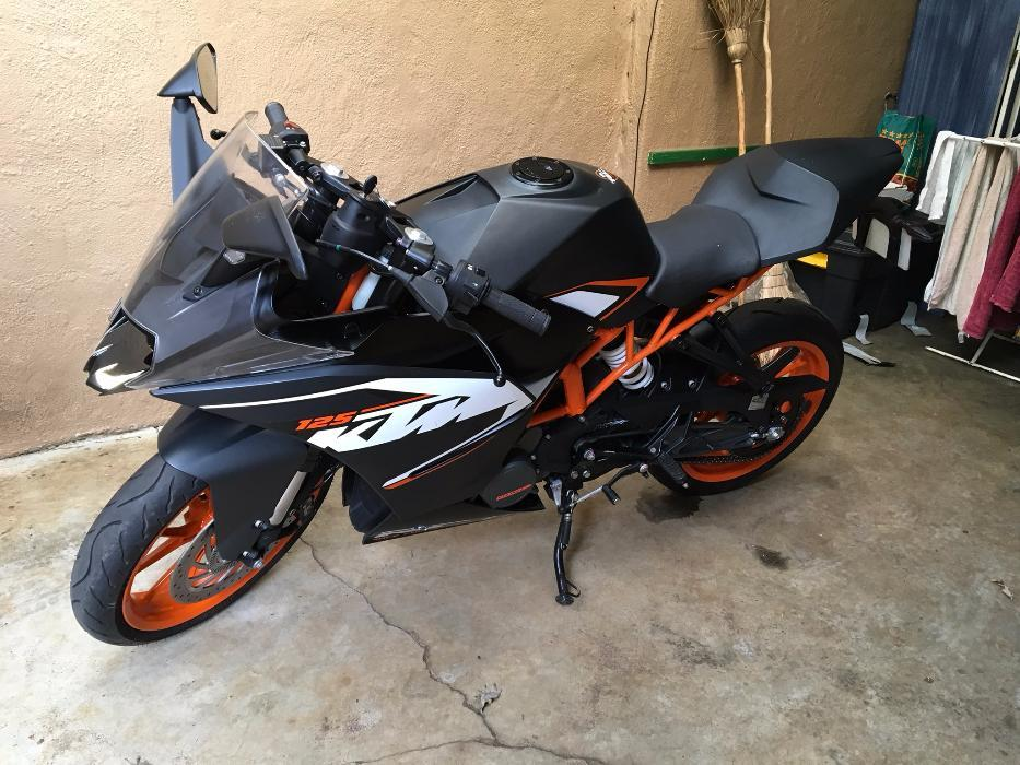 KTM 125RC for Sale , Ideal bike for today's schoolkid