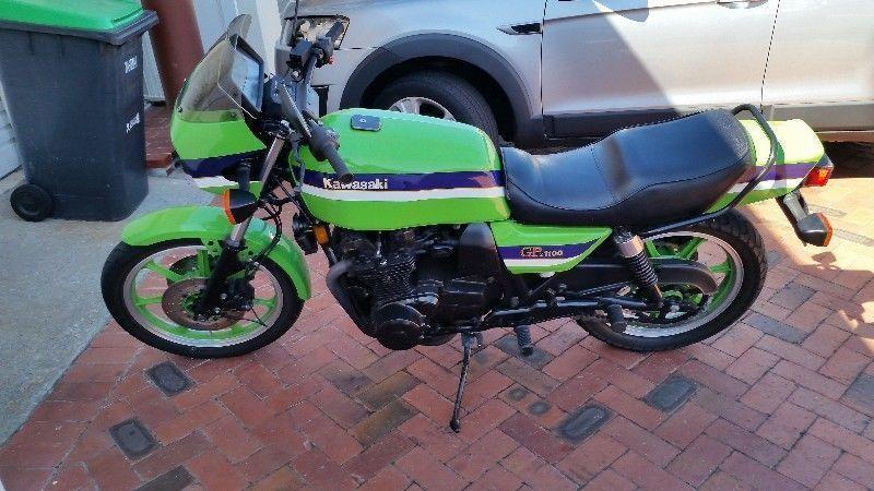 1982 Kawasaki GPz1100 Lawson Replica Mint condition