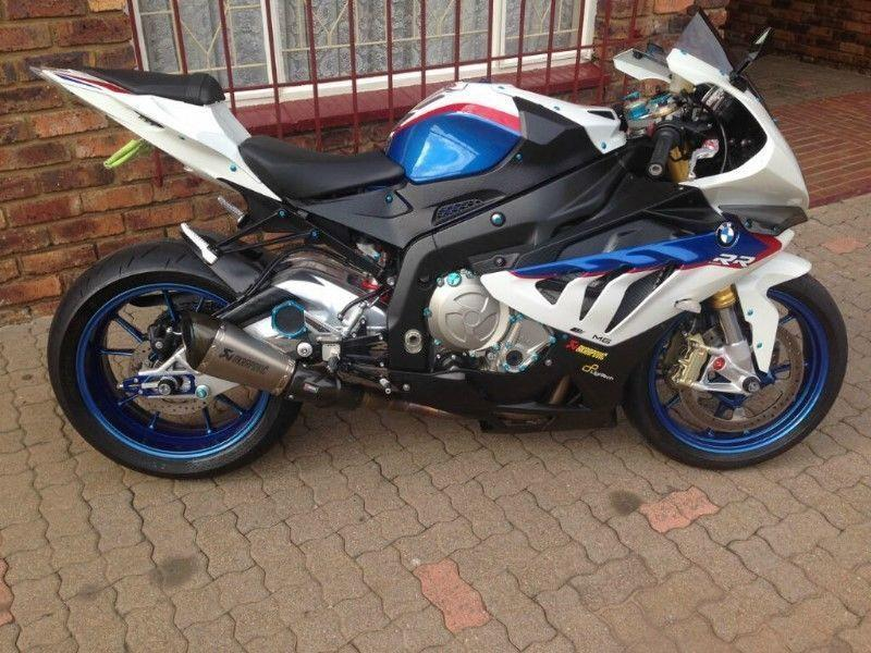 BMW S1000RR Motorsport 2012 with 3300 km on the speedo. Bike is in MINT MINT Condition Accident Free