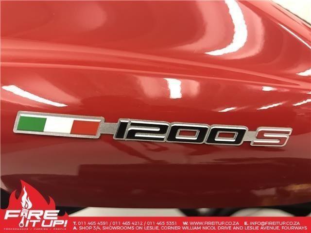 2014 DUCATI MONSTER 1200S OHLINS- NEW SPEC