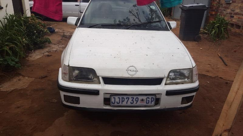 Opel monza body with gearbox to swap for bike