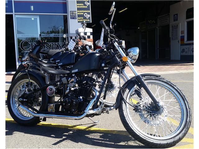 Cleveland Heist 250cc Bobber in stock at Bike Bros. N1 City!