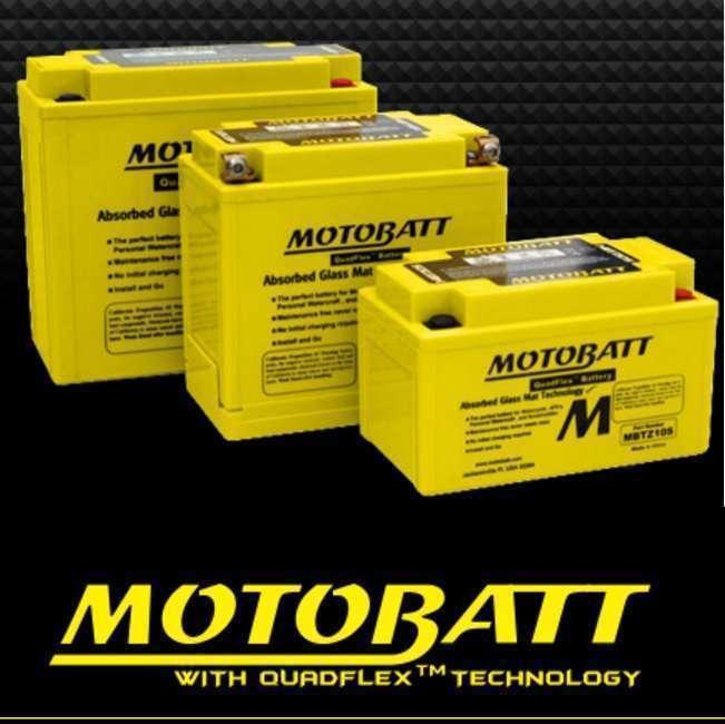 Motobatt Gel batteries for Harleys/Superbike/adventure bikes and quads