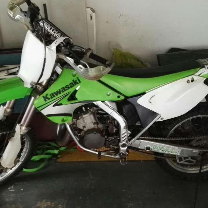 Kawasaki 2007 motorbike