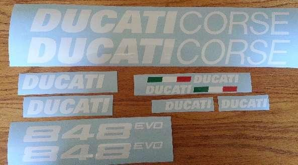 848 EVO decals sticker kits