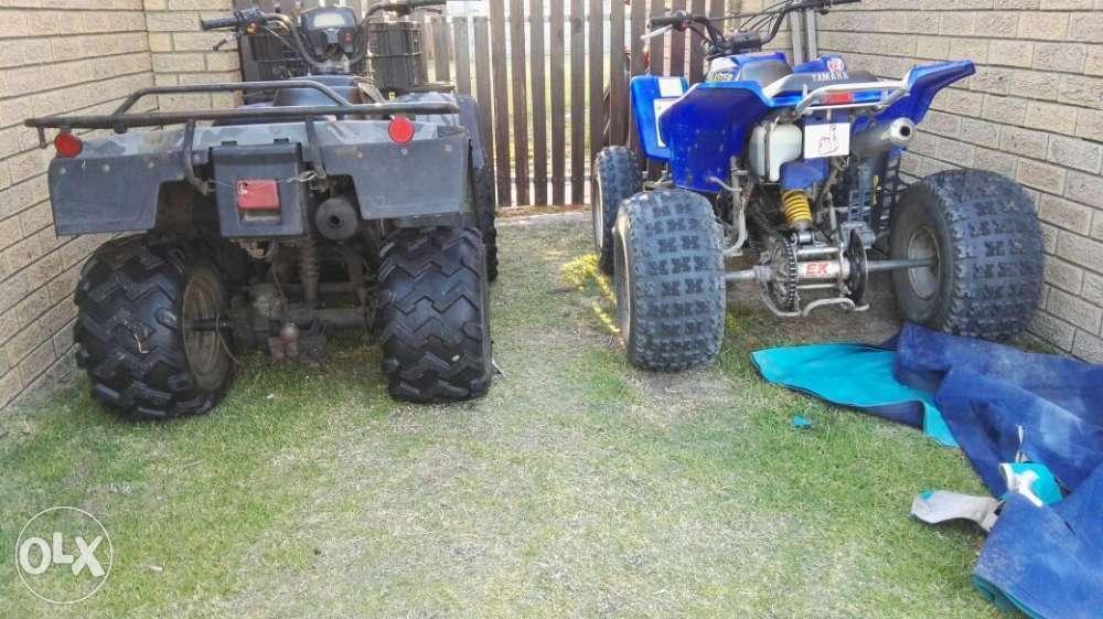 2 Quad bikes
