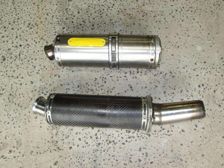 HONDA cbr 929 and 954 exhaust canisters