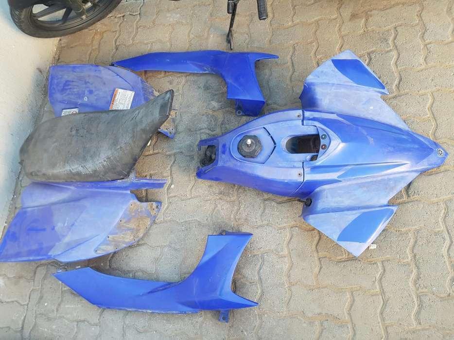 Yamaha YFZ450 plastics, seat, tank