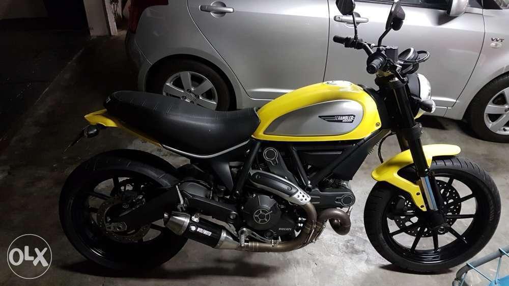 Ducati Scrambler 803