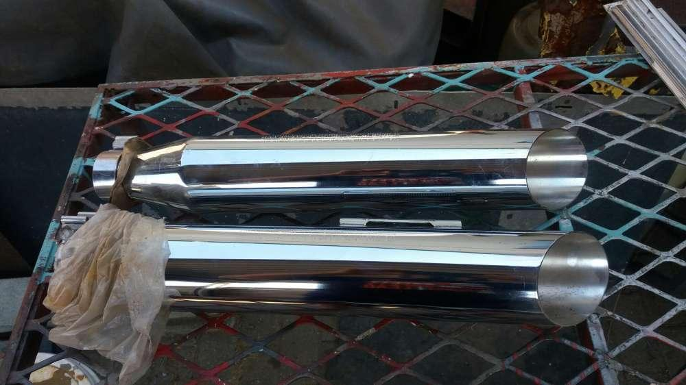 Harley Davison exhaust system