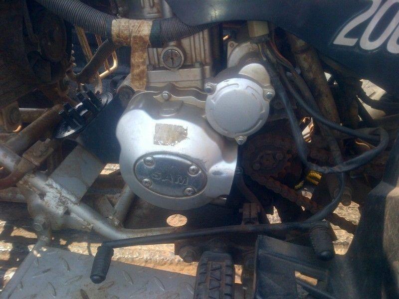 bike repairs to bashan/gpr/jonway/bigboy/regal spyder/ect @clives bikes imports sa