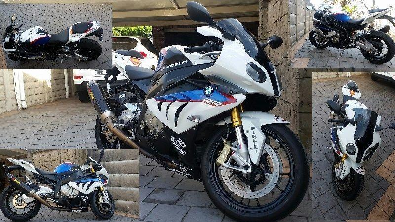 2014 BMW 1000RR M Sport 6100KM Full Spec Like New R165 000